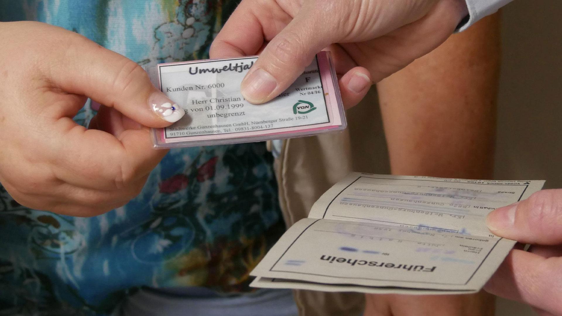 Führerschein gegen VGN-Jahresticket