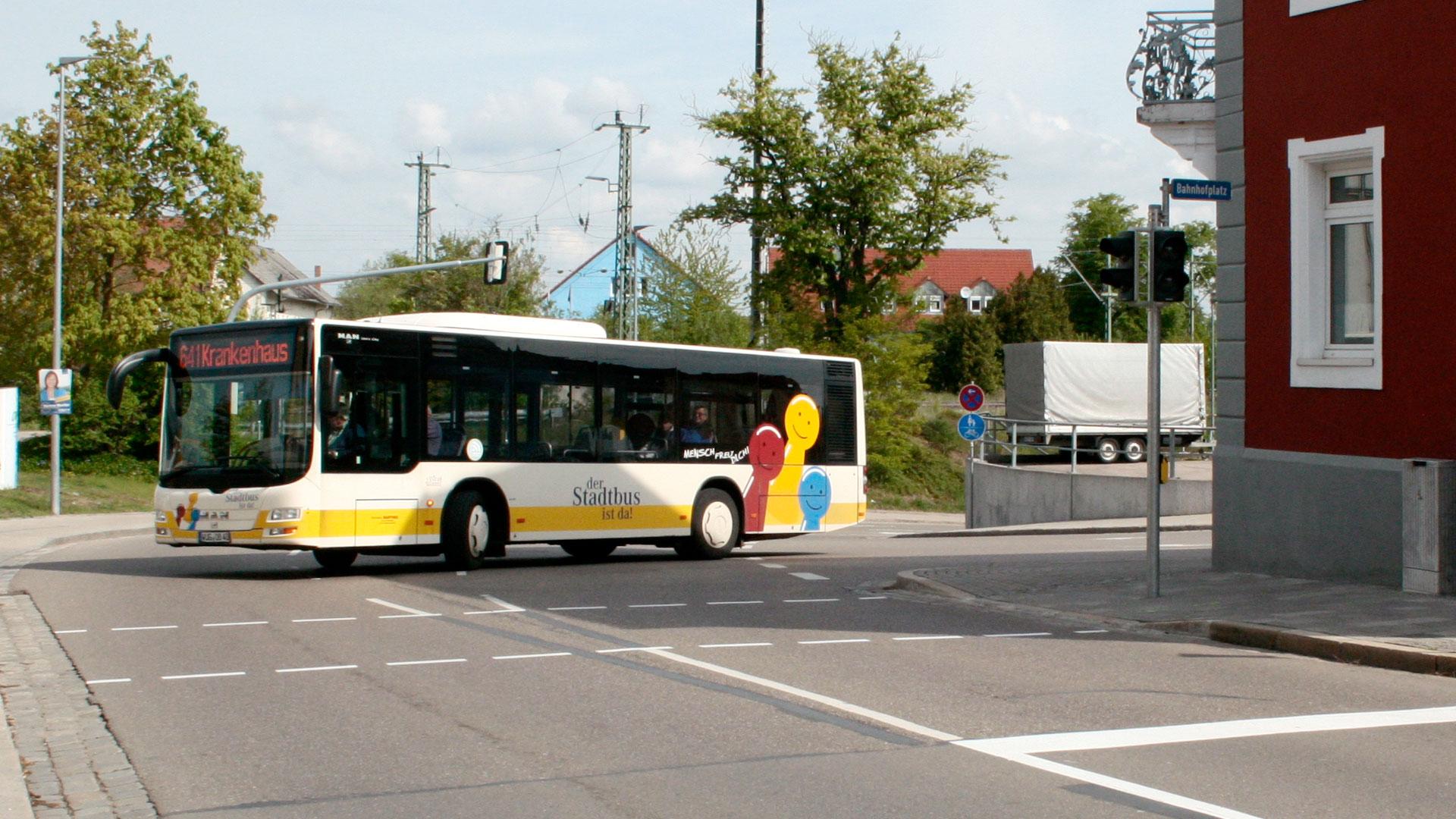 Wir verbessern die Pünktlichkeit des Stadtbusverkehrs